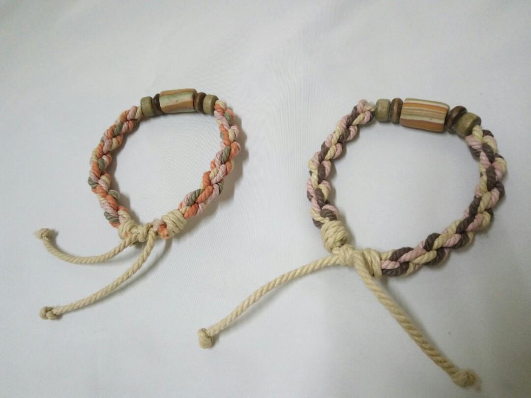 日系森林系 編織手環手繩