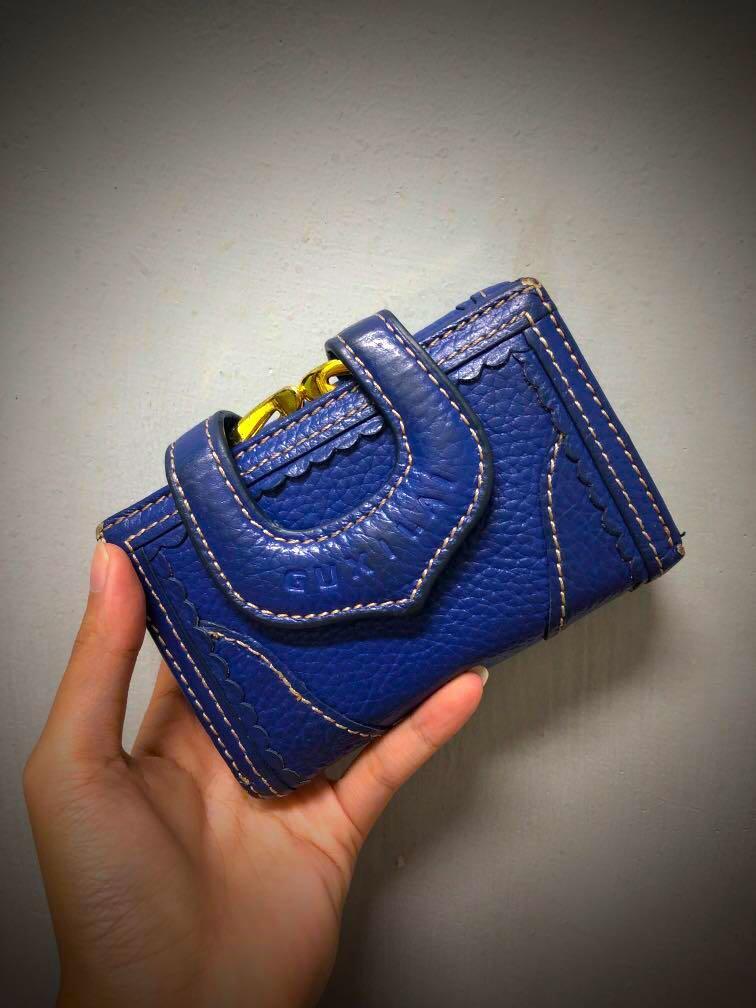 寶藍色 皮夾
