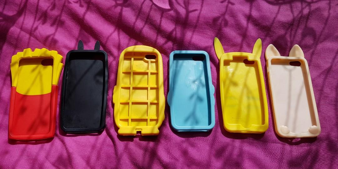 ☆ Assorted Silicone Iphone Cases ☆