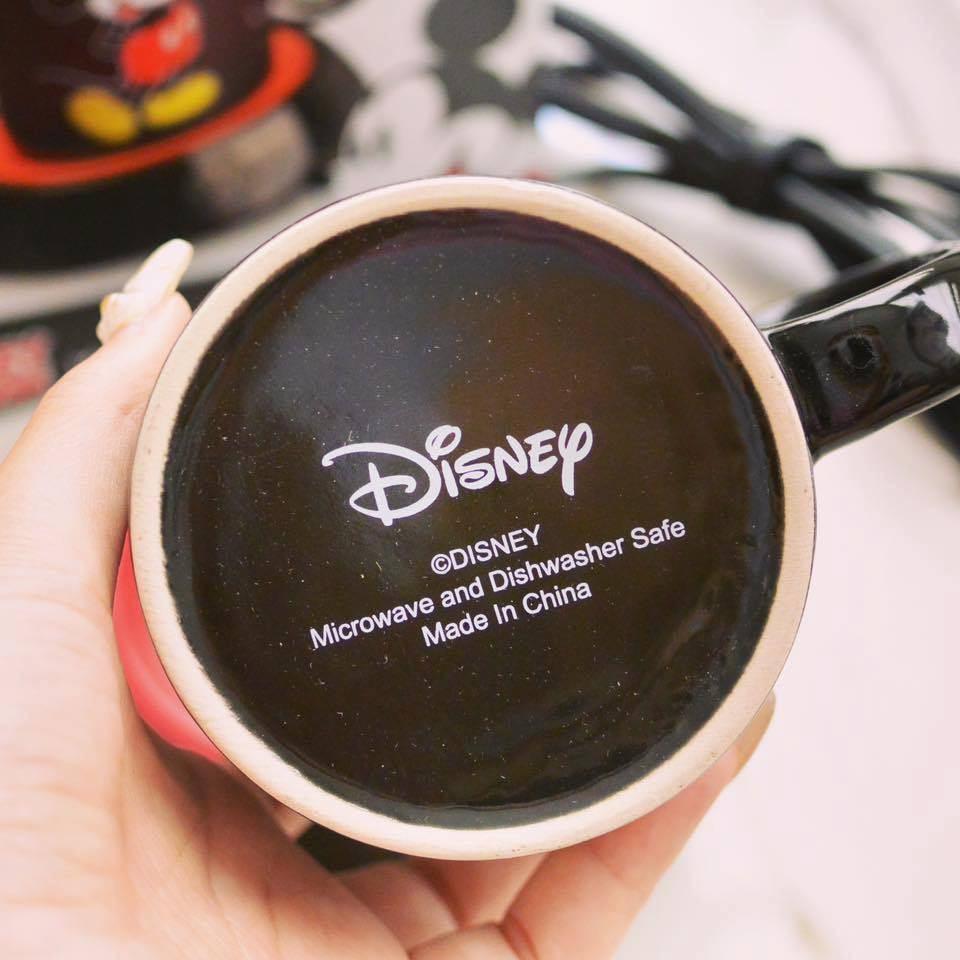 《全新》迪士尼 disney 插電式加熱型陶瓷馬克杯組
