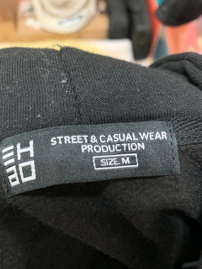 黑色基本連帽上衣 M號