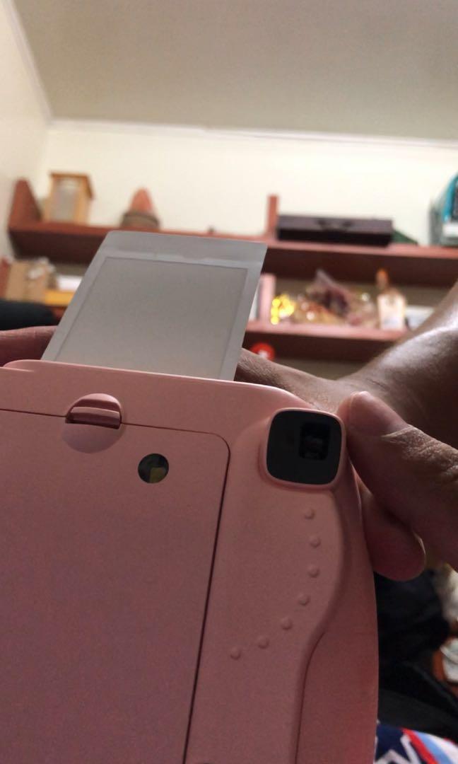 富士拍立得 mini8 附28張底片 自拍鏡 束口袋 電池