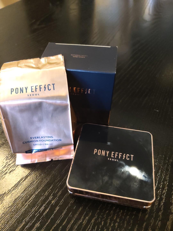 轉賣 PONY EFFECT 新款 極透光氣墊粉餅