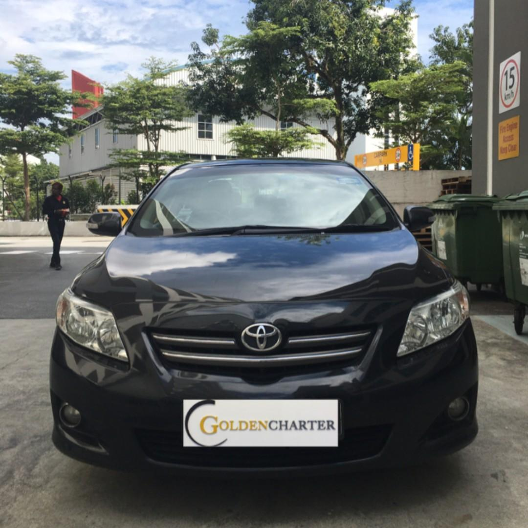 Altis for rent . PHV/Personal can enquire with us. gojek|grab|TADA|Ryde
