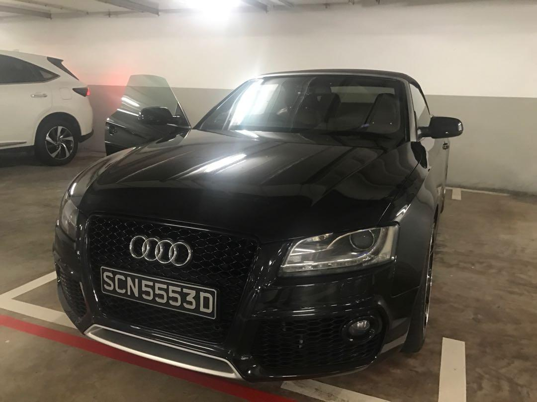Audi A5 Cabriolet 2.0 TFSI quattro S tronic Limited Edition (A)