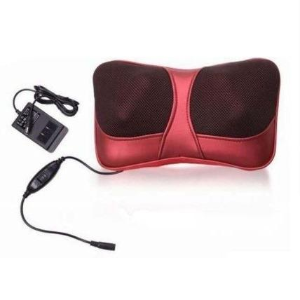 Bantal Pijat Shiatsu Car Heat Neck Massage Pillow - 8028 TItanGadget