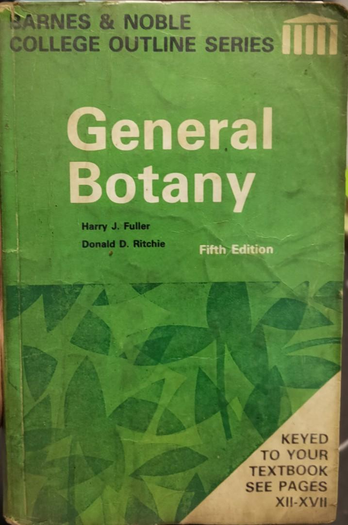Barnes & Noble College Outline Series, General Botany, 5th Ed. by Fuller & Ritchie