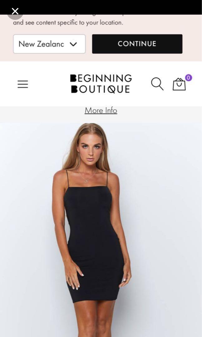 Beginning Boutique dress