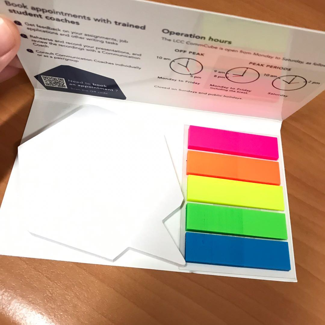 BN Post It Notes & Flags