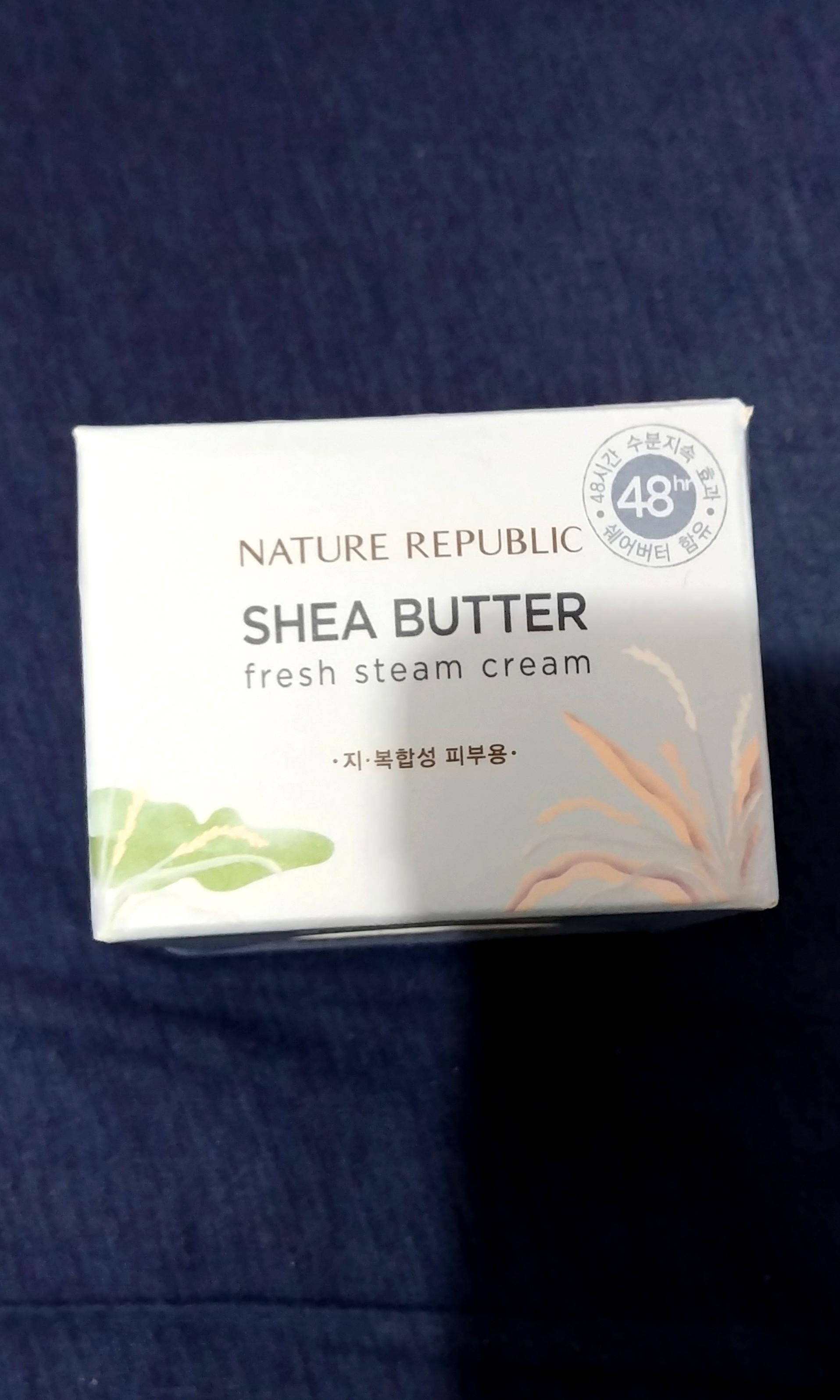 Brand New Nature Republic Shea Butter Fresh Steam Cream