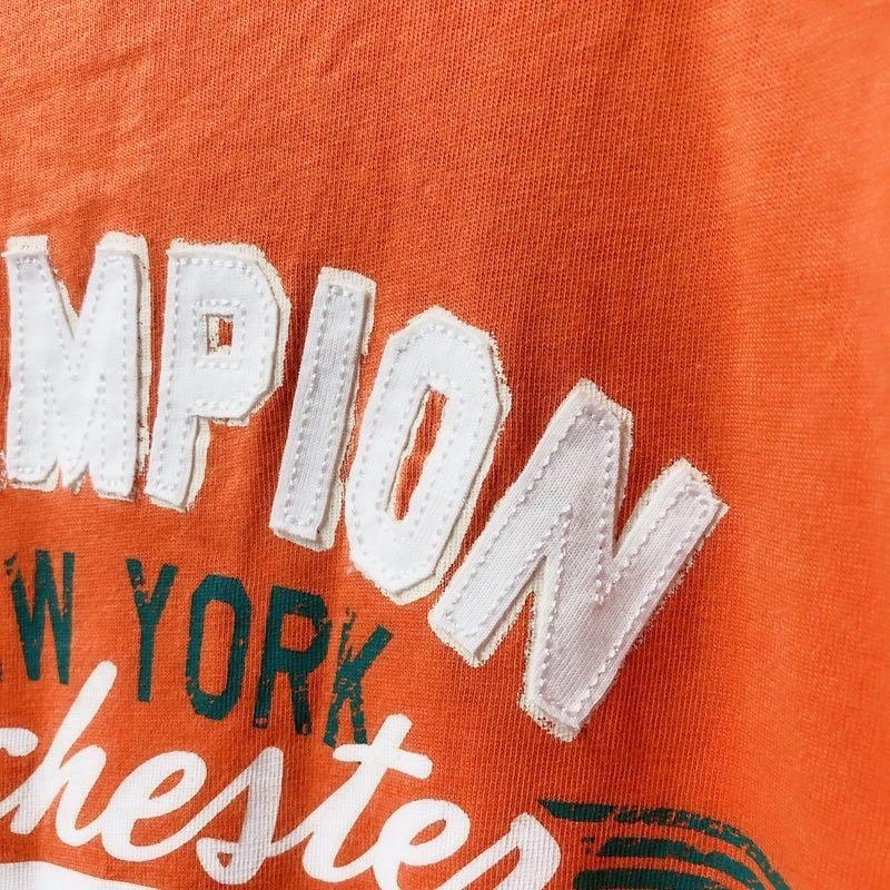 Champion 英文印花短袖T恤
