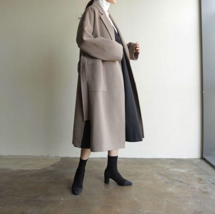 Charmood   handmade手標90%羊毛大衣