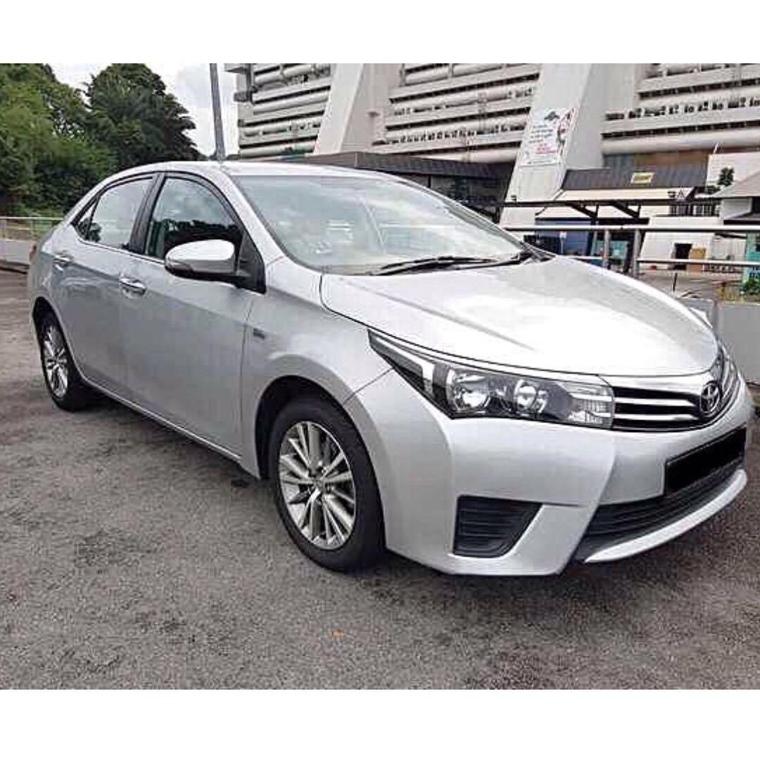 CHEAPEST RENTAL IN TOWN Toyota Altis