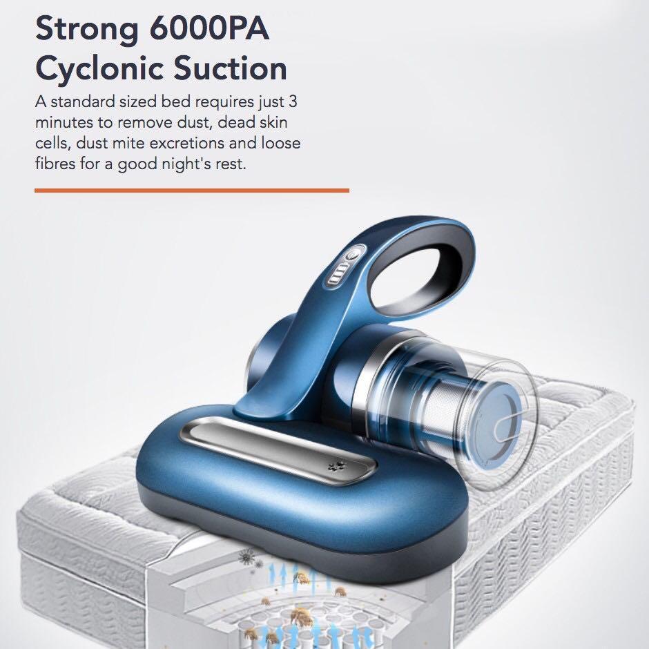 Corvan Cordless Anti-Allergen Bed Vacuum (NEW)