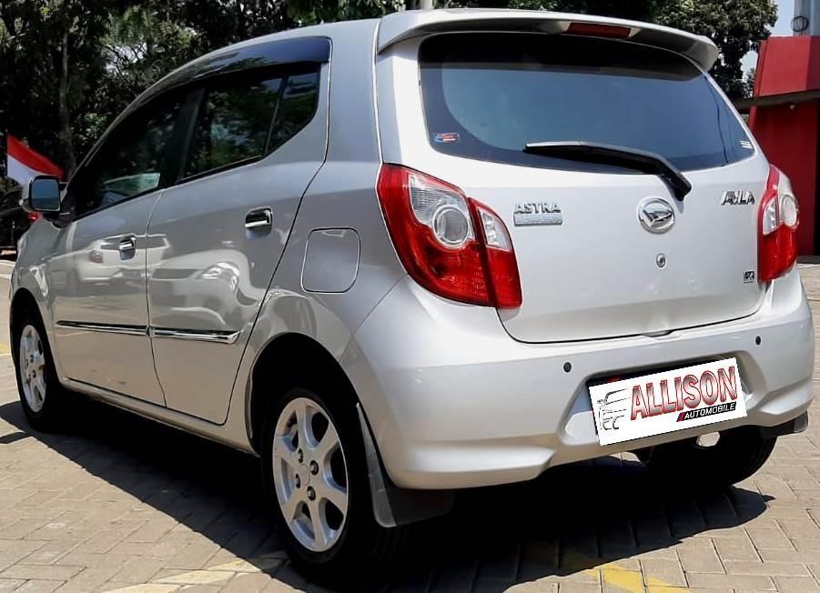 Daihatsu Ayla Tipe X AT 2016 Silver DP 29,9 Jt Km 13 Rb No Pol Genap