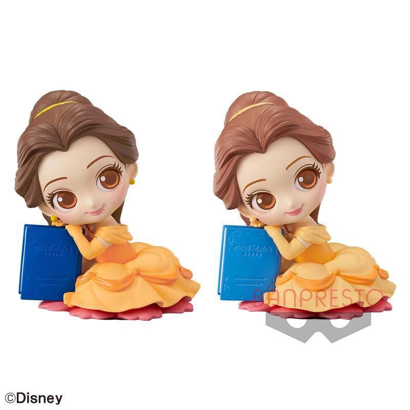 Disney Qposket Sweetiny Belle B色(淺色)