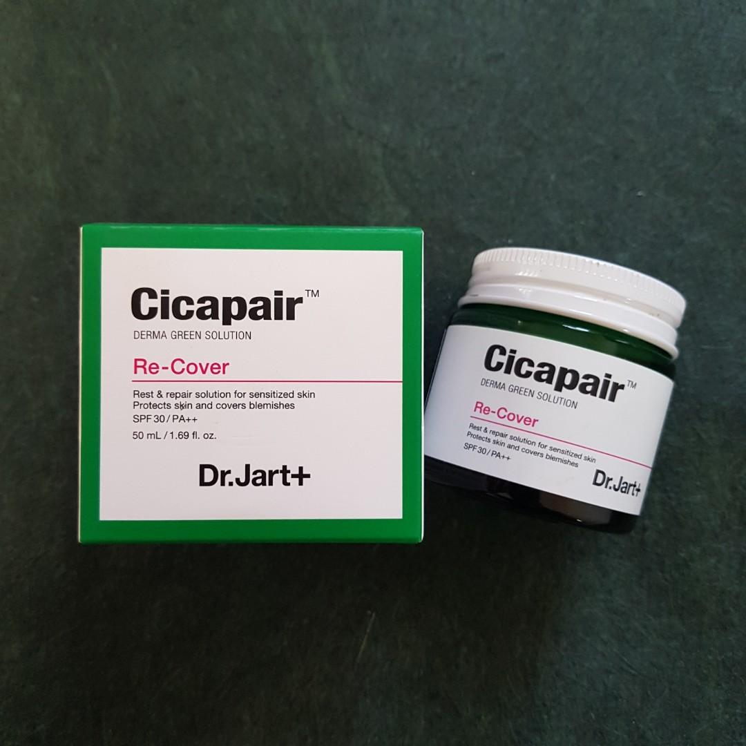 Dr. Jart+ Cicapair Derma Green Solution Re-Cover Cream