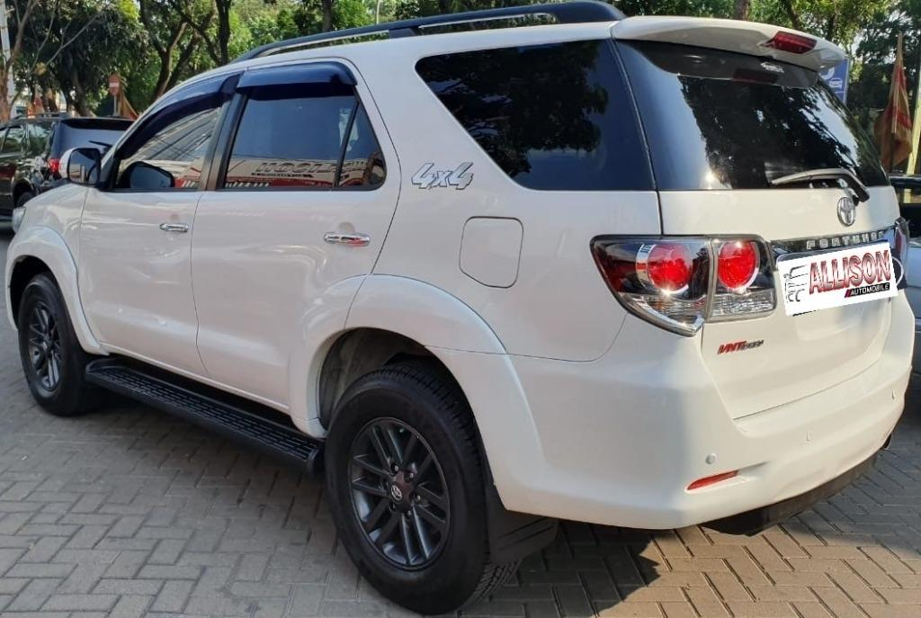Fortuner Diesel G AT 4WD (4x4) 2014 Putih Dp 77,9 Jt No Pol Ganjil