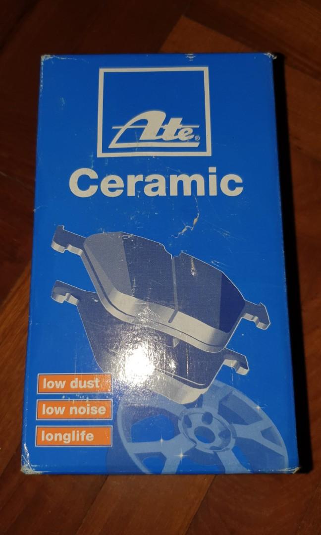 Front ceramic brake pads set for Citroen C4 Picasso