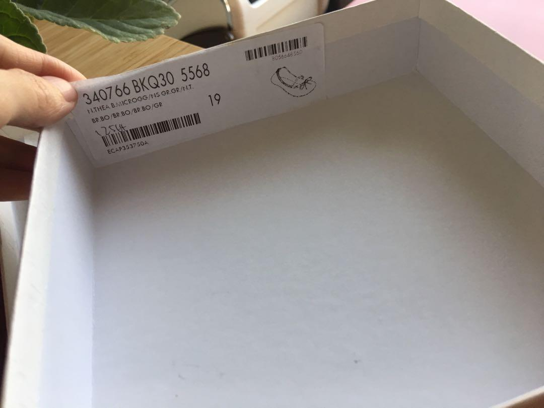 Gucci 桃紅女童嬰兒鞋 正品 (13公分)