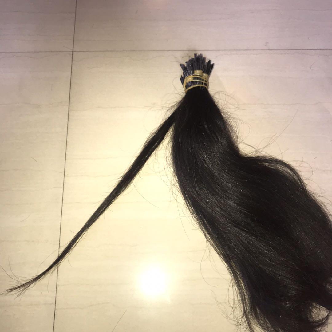 Hair extension brazilian human hair  100%