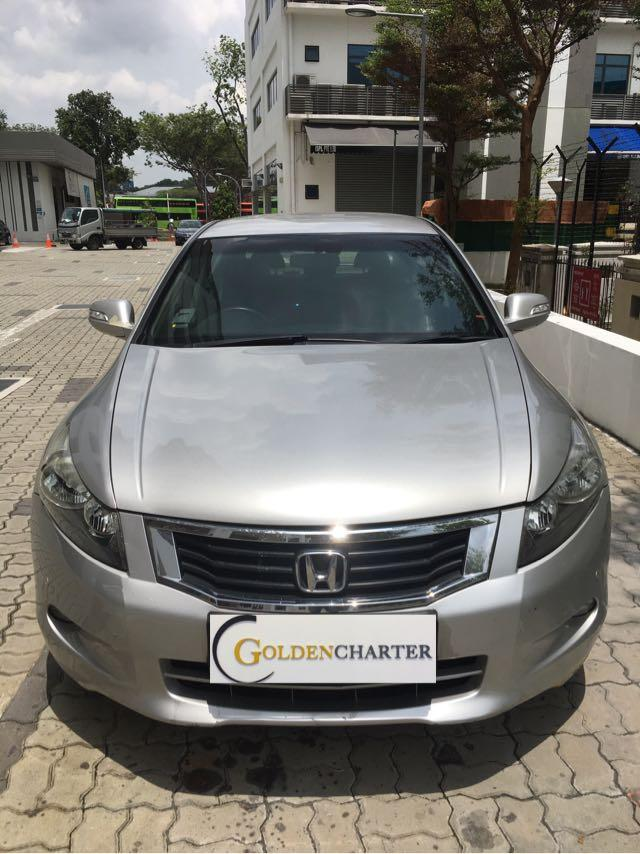 Honda Accord! Ready for PHV and personal can rent!