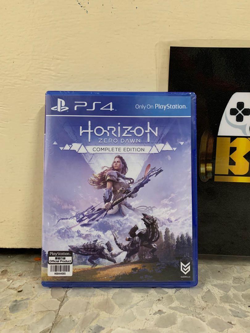 Horizon Zero Dawn Complete Edition PS4  R3 New