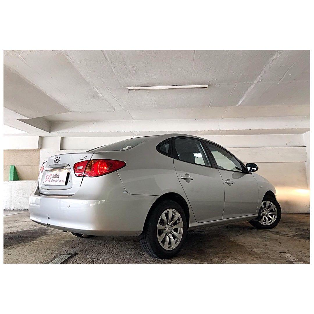 Hyundai Avante ONE TANK 600+KM GO-JEK RENTAL REBATE / GRAB CAR RENTAL