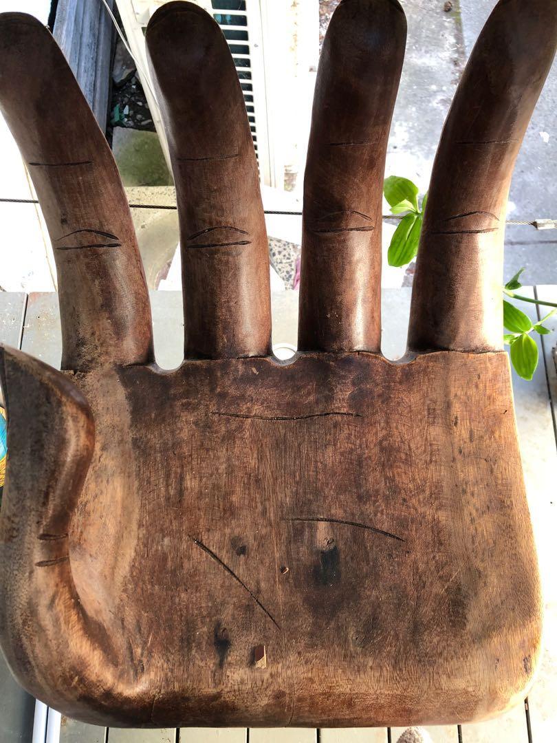 Ishka Wooden Hand chair