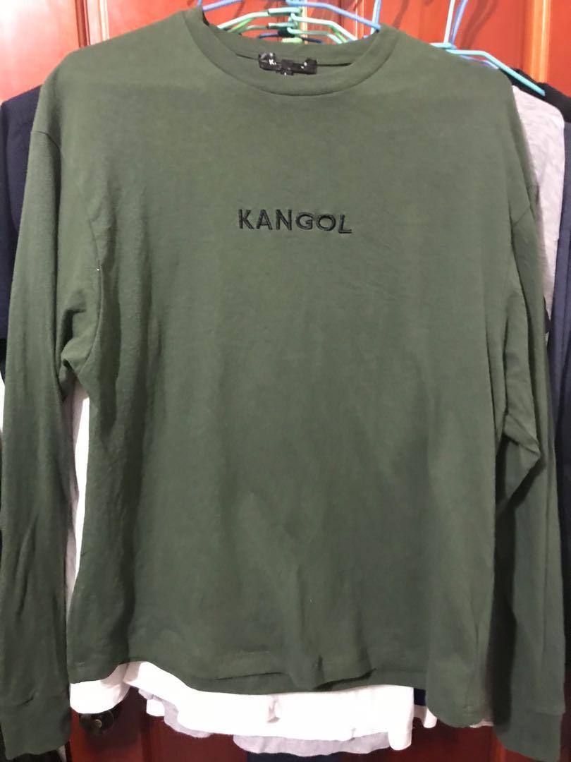 kangol 長袖t