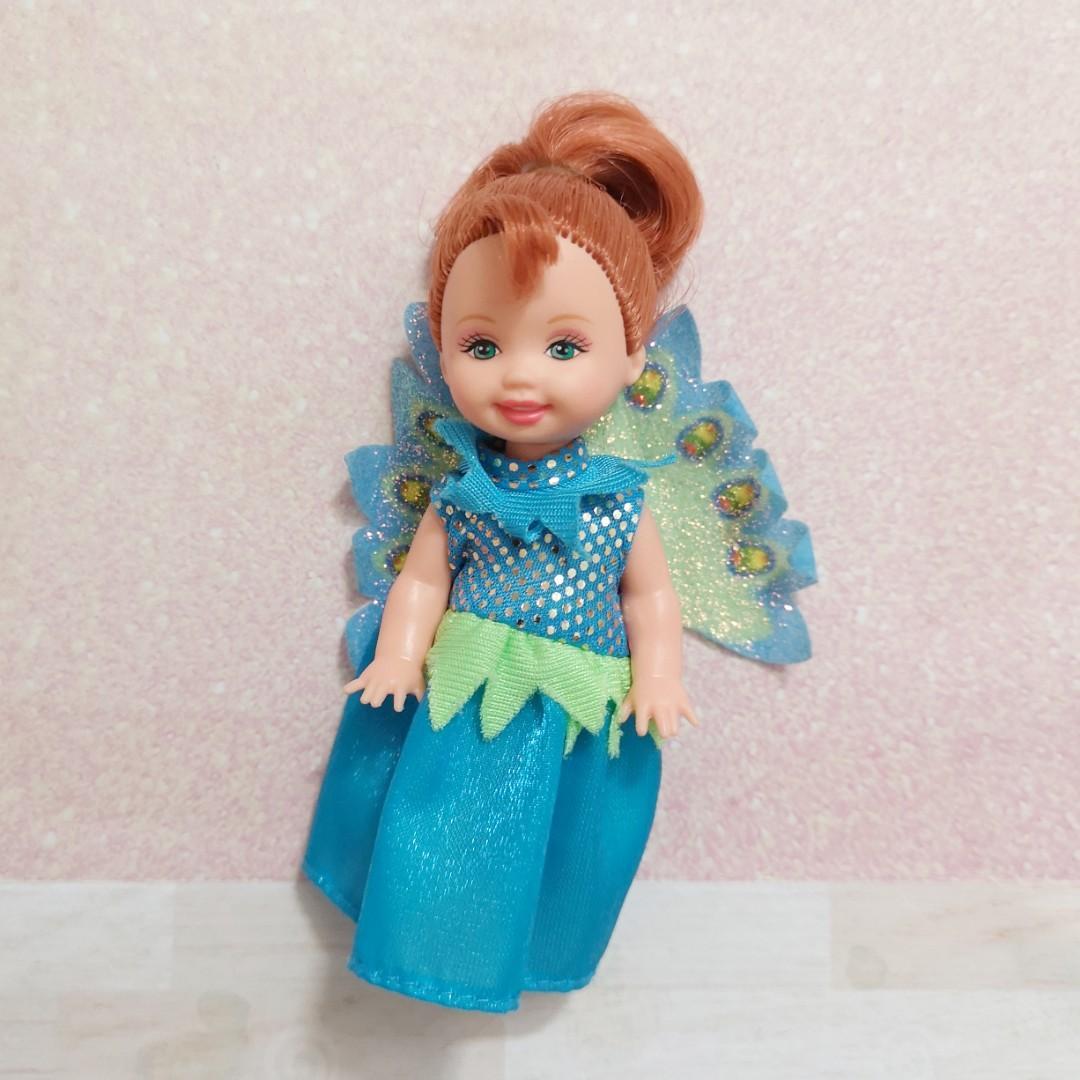 Kelly doll peacock princess (Barbie Rapunzel series)