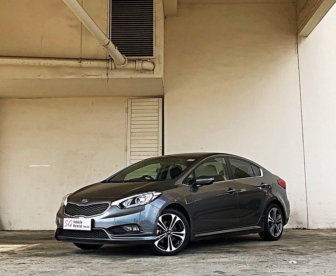 Kia Forte K3 1.6 SX Auto Highest Specs With In-Built GPS WAZE Go-Jek / Grab Private Hire & Personal Usage