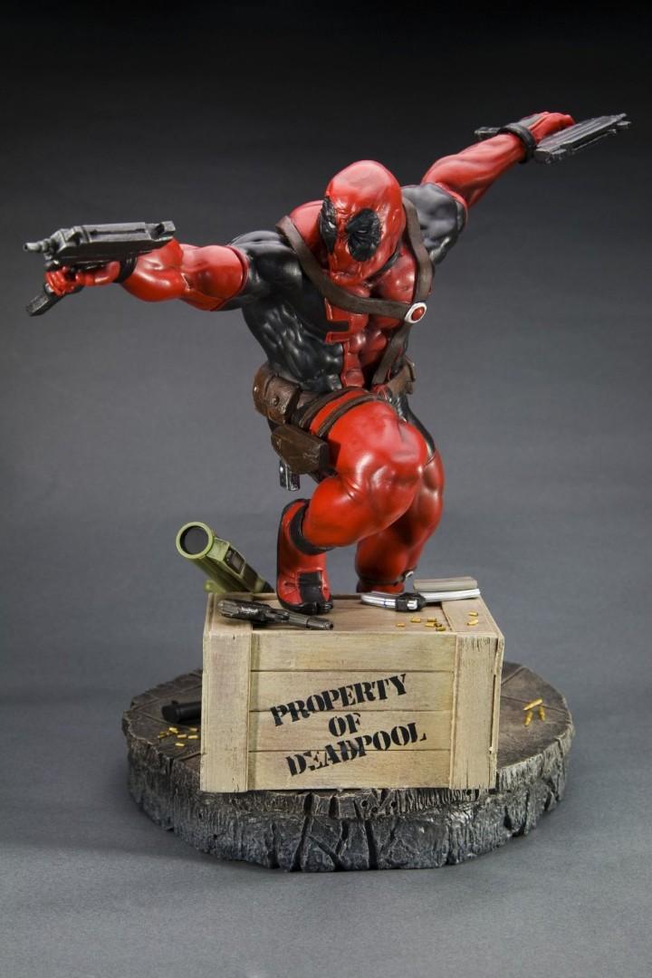 Kotobukiya Fine Art Deadpool toy statue hot item Marvel
