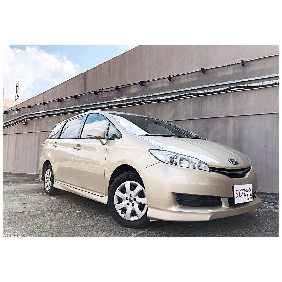 LATEST TOYOTA WISH 7 SEATER GO-JEK RENTAL REBATE / GRAB USAGE CHEAPEST IN TOWN