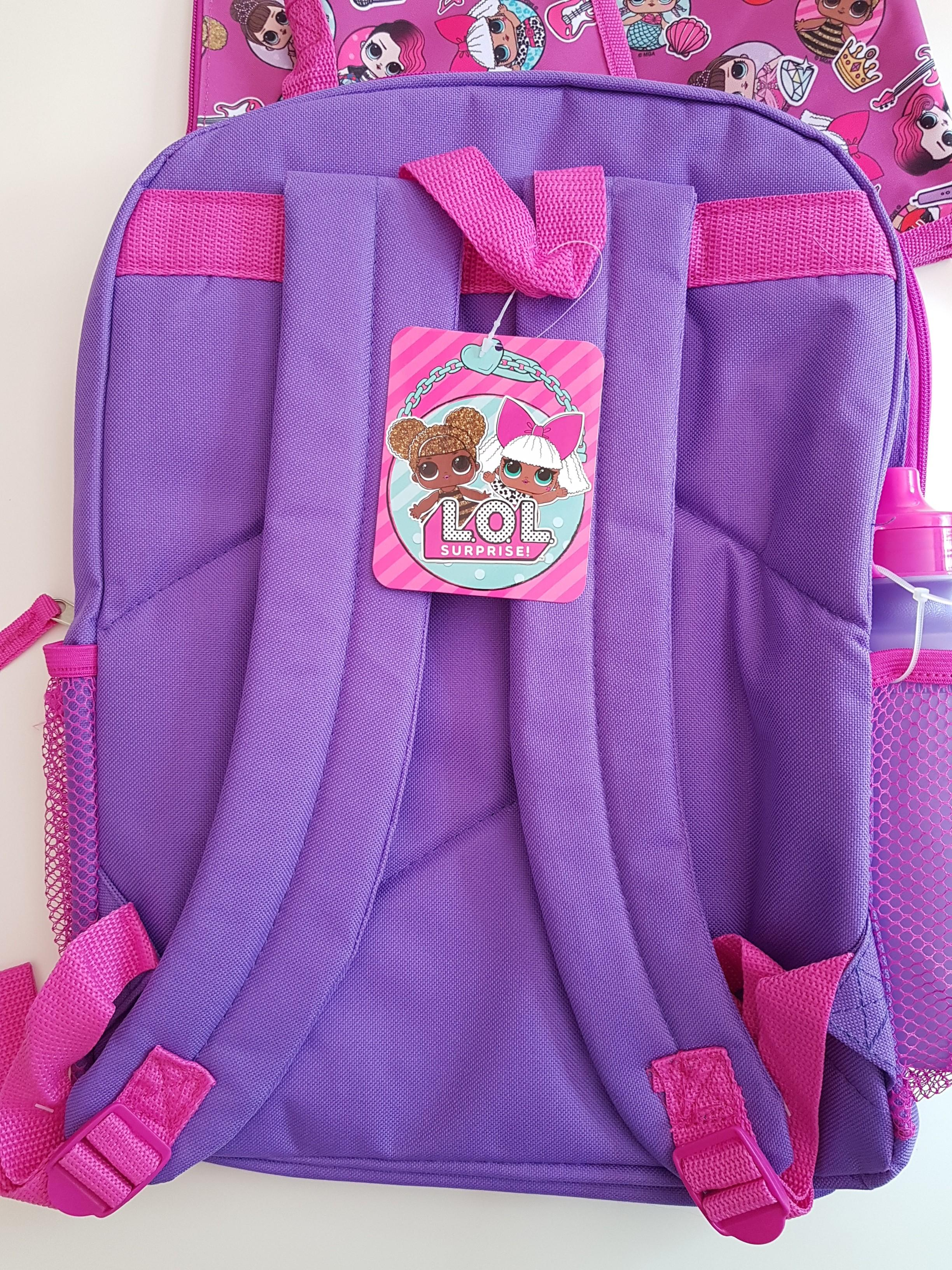 LOL Surprise School Bag, Girls Backpack