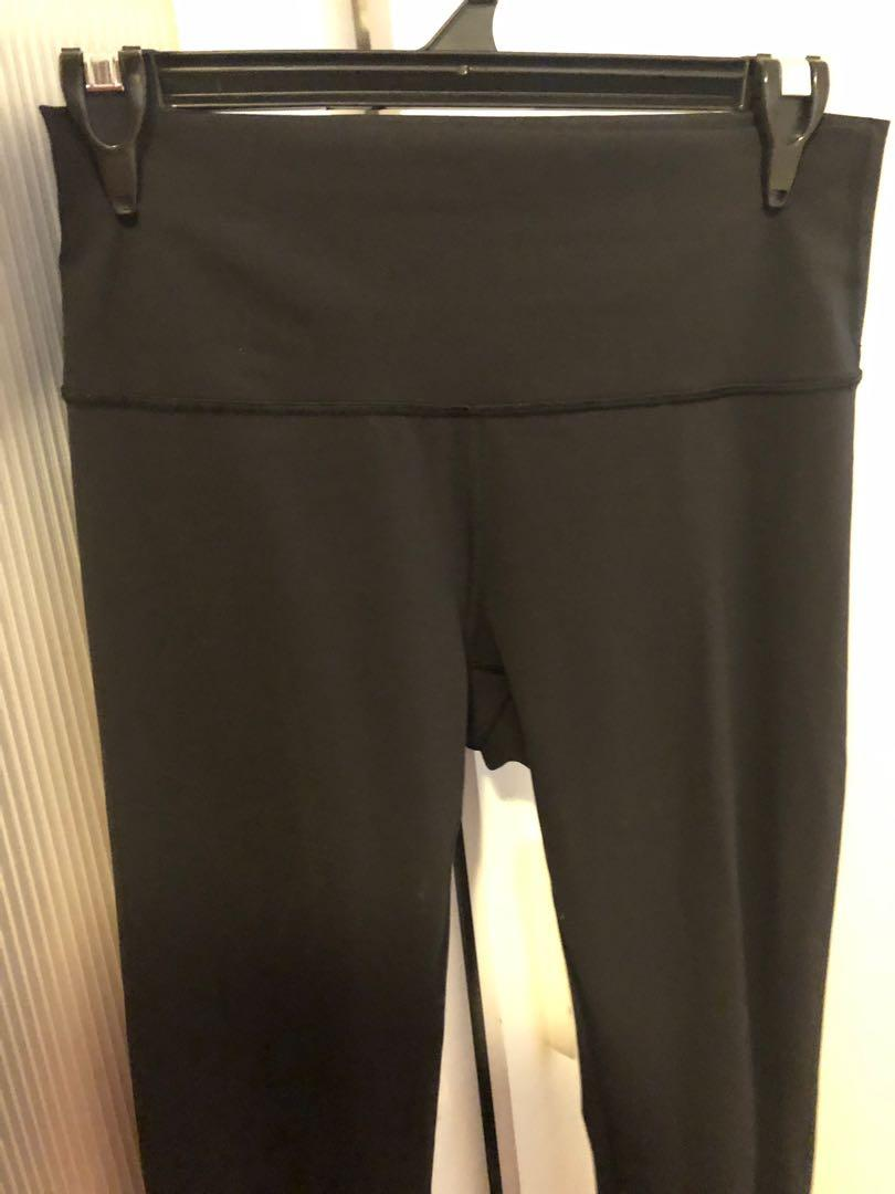 Lululemon Yoga Black high waisted leggings Tights pants size 10 Aus RRP $130