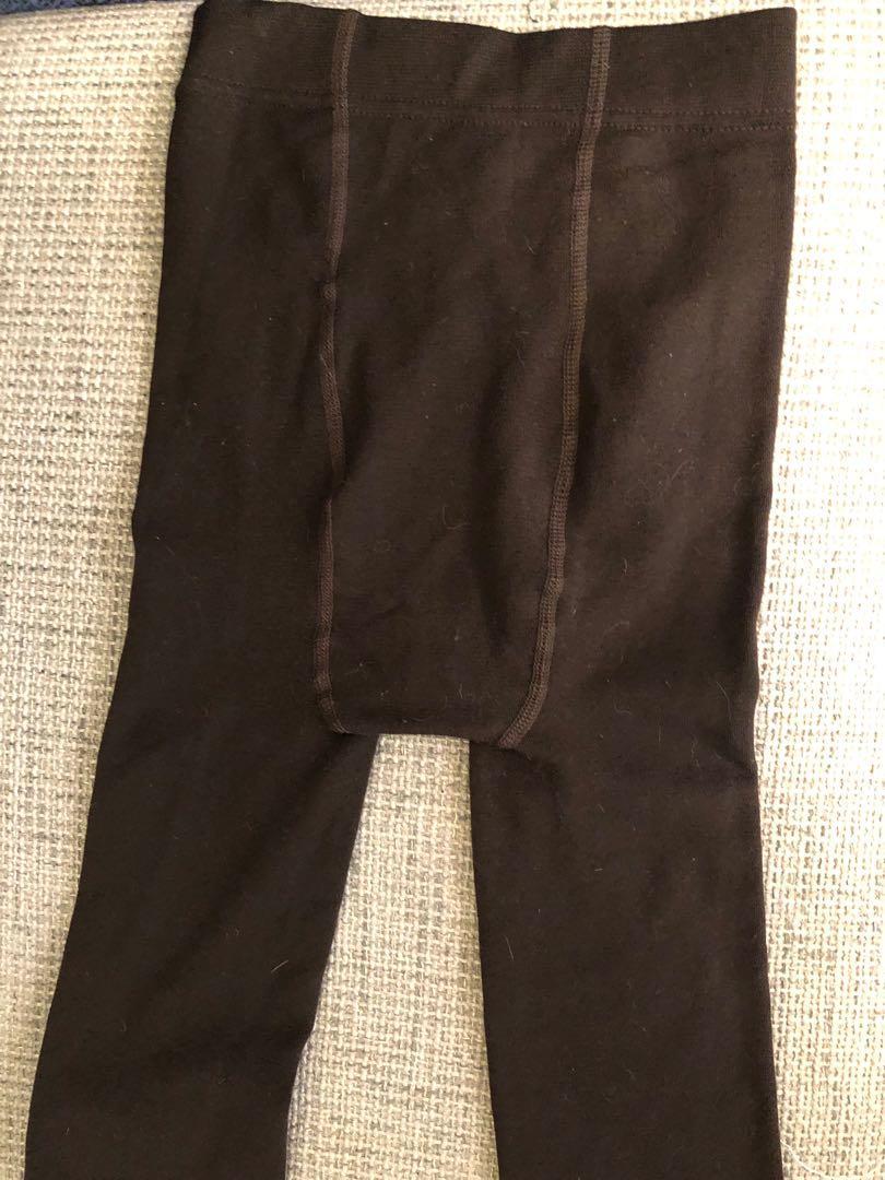 七分顯瘦彈性長褲內搭毛呢褲(保暖型)M可#五折清衣櫃