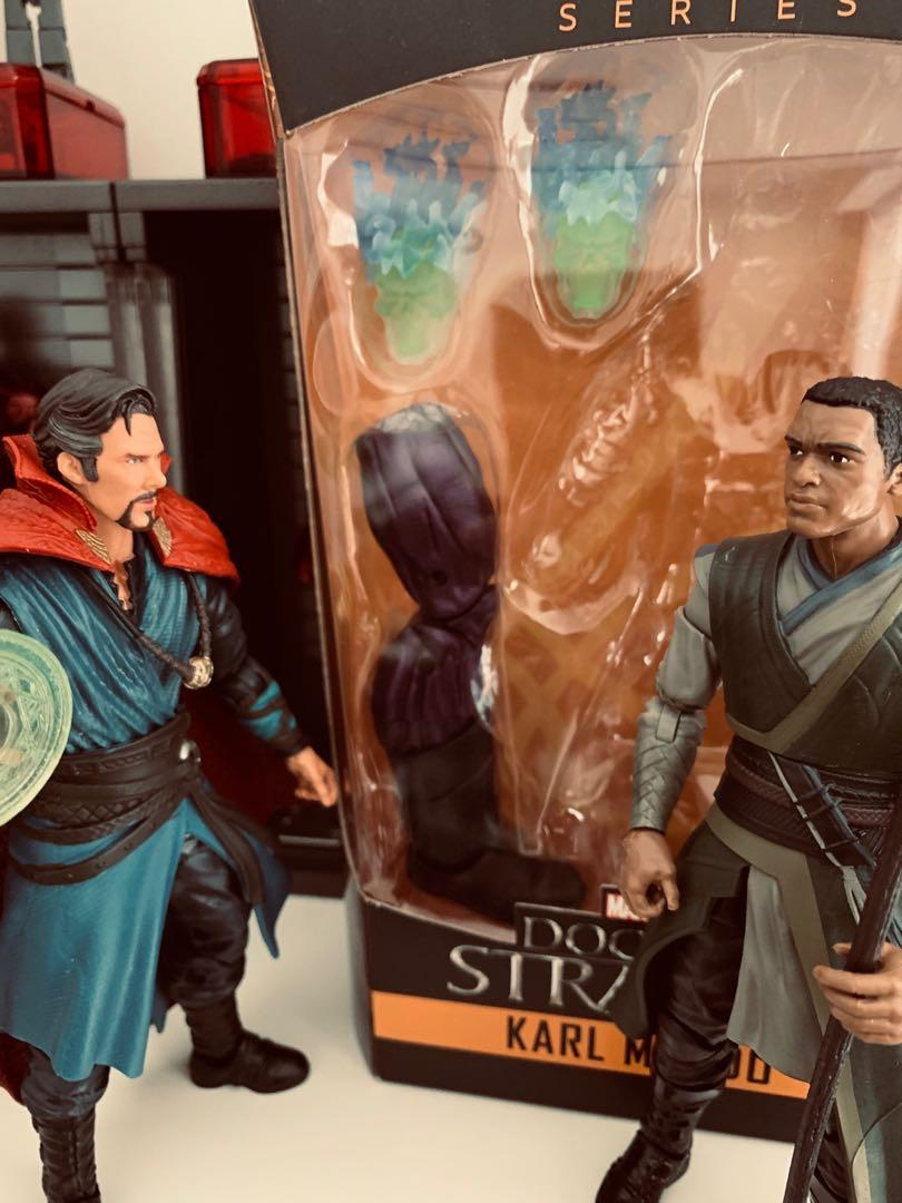Marvel Legends Dormammu BAF from Doctor Strange Karl Mordo
