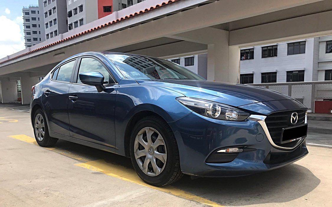 MAZDA MAZDA3 SEDAN 1.5 AT EU6 CHEAPEST RENTAL IN TOWN GRAB/GO-JEK