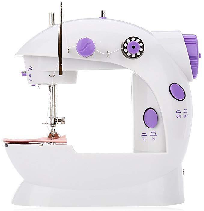 Mini Sewing Machine with Double Treads & 2 Speed Control