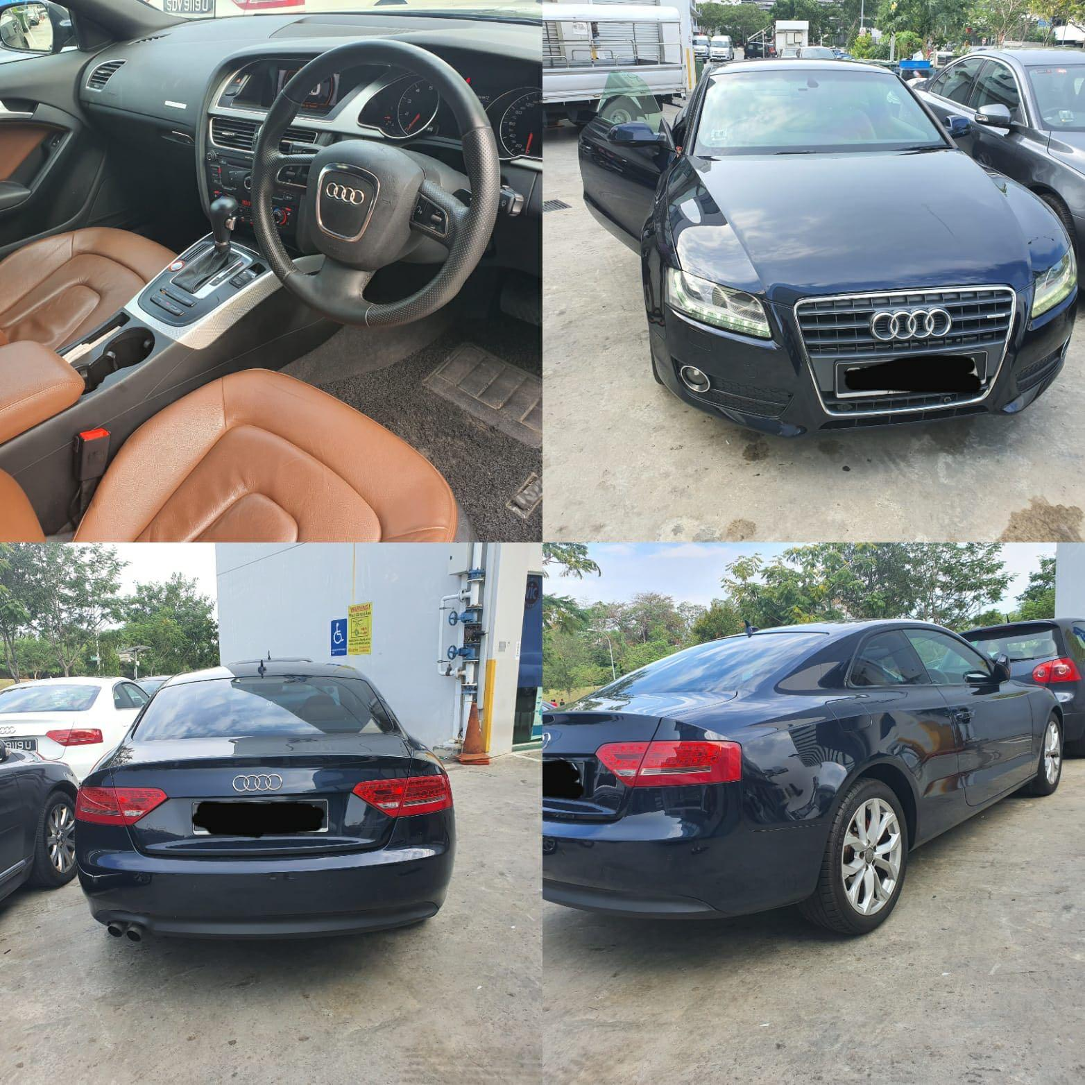 Monthly rental: Audi A5 Coupe 2.0 TFSI Quattro