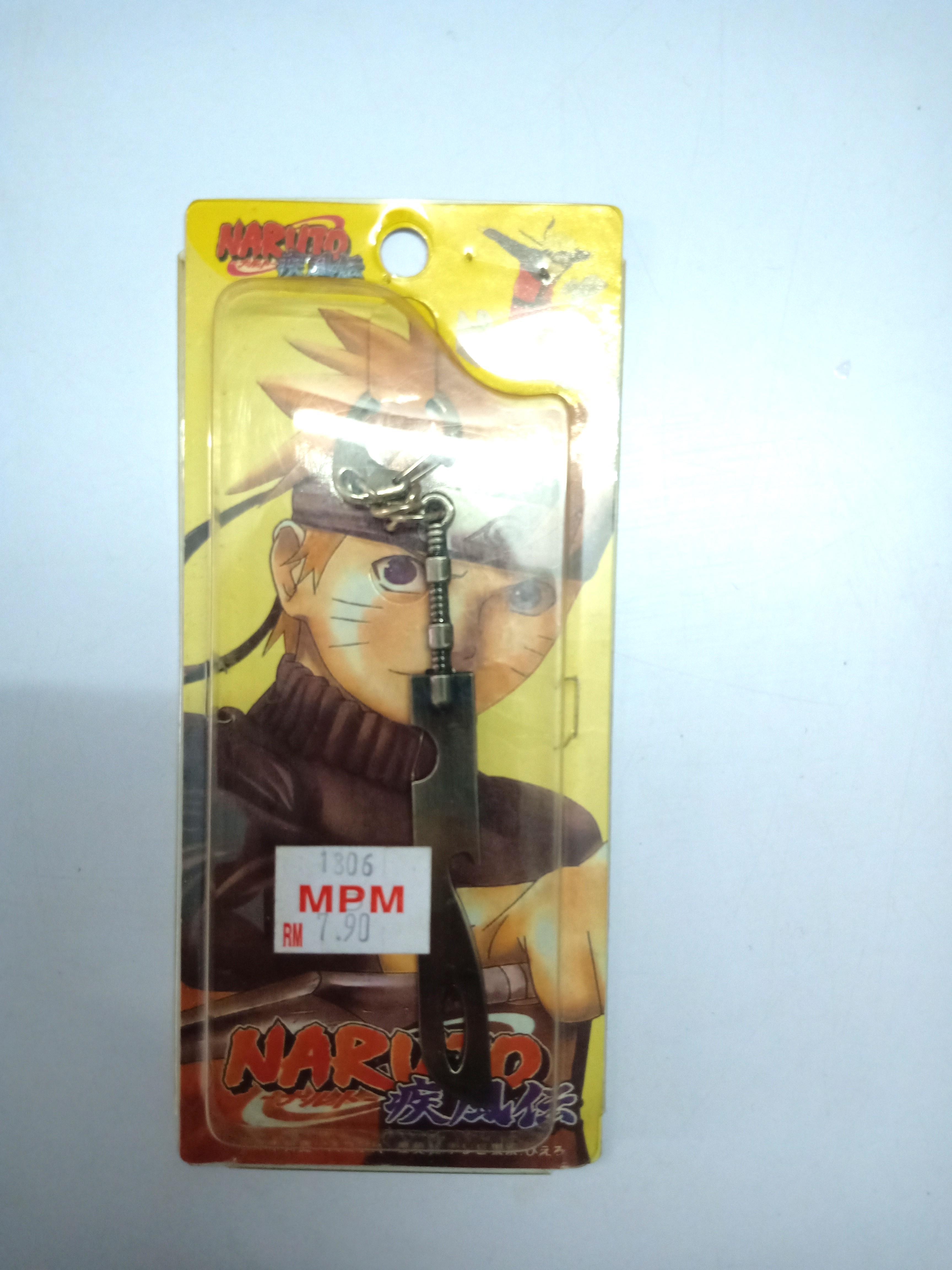 Naruto Shippuden Zabuza weapon Wielder Kubikiribocho keychain