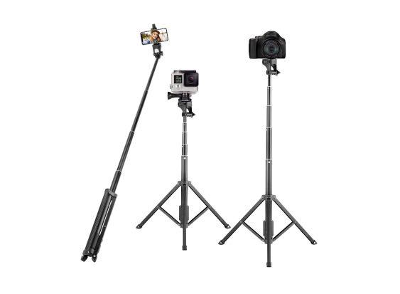 New Eocean 54-inch selfie stick tripod wireless remote aluminum alloy