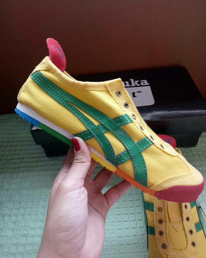 Onitsuka tiger yellow rainbow