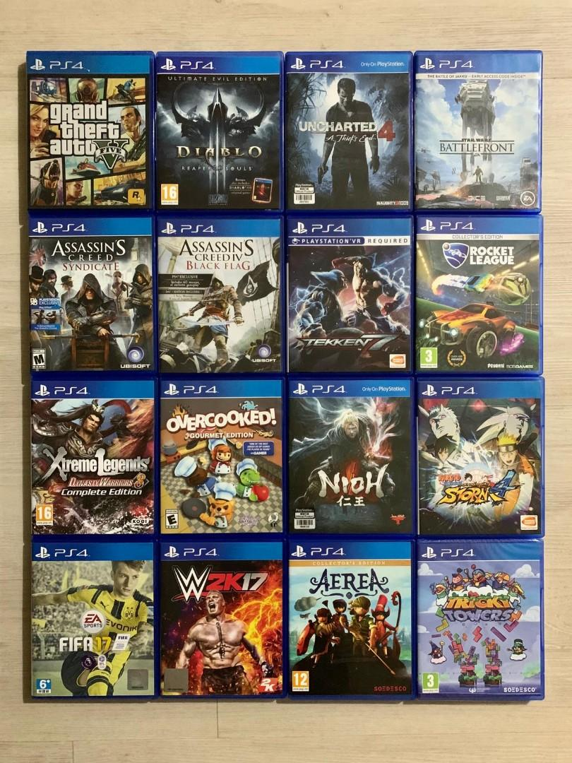Ps4 Pro Games Toys Games Video Gaming Video Games On Carousell