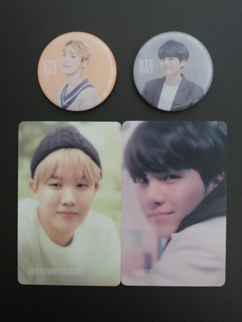 [READY STOCKS] BTS World OST Story Cards & Magnets Set