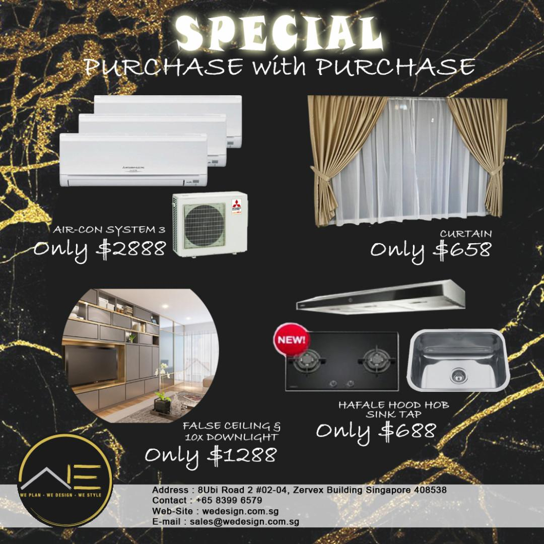 Renovation Package with free Gifts