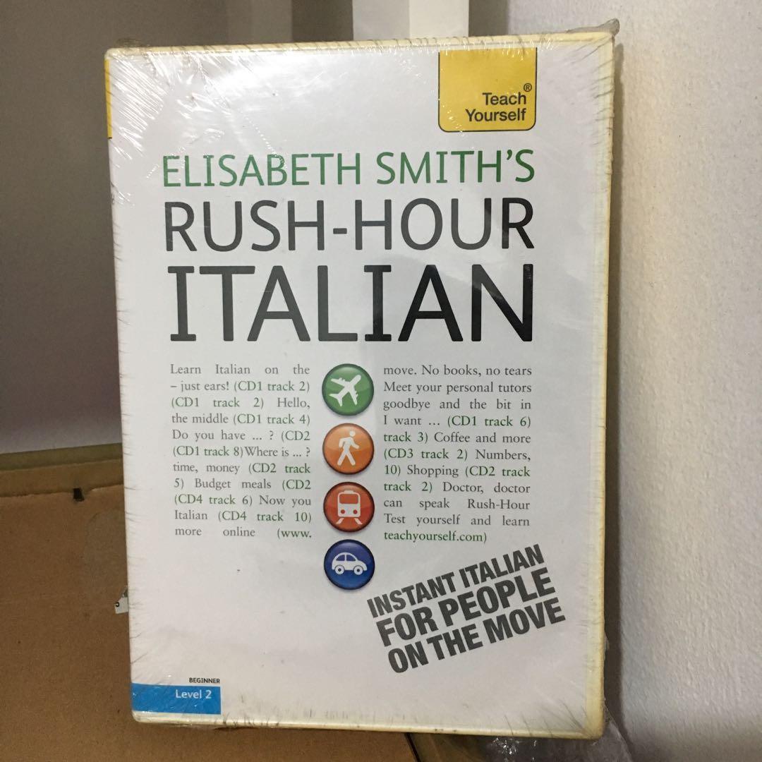 Rush-Hour Italian: A Teach Yourself Guide with Four Audio CDs (Teach Yourself Language)