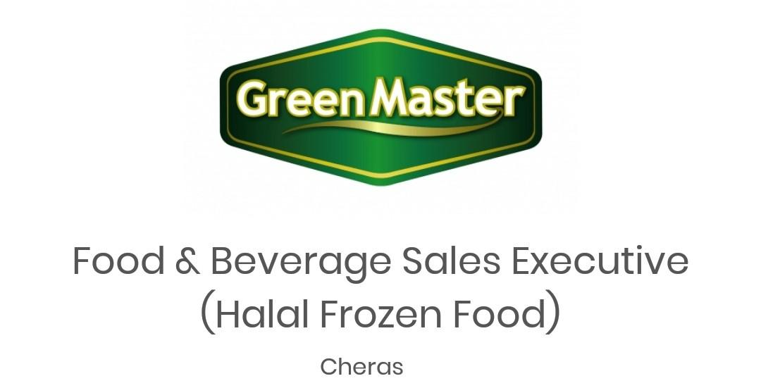 Sales Executive - Food & Beverages (Halal Frozen Food)