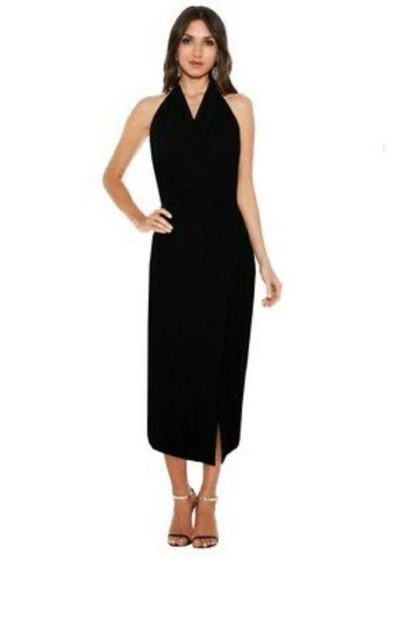 STUNNING Dion Lee Line II Soft Lace Dress size 6 BLACK RRP $650 WORN ONCE